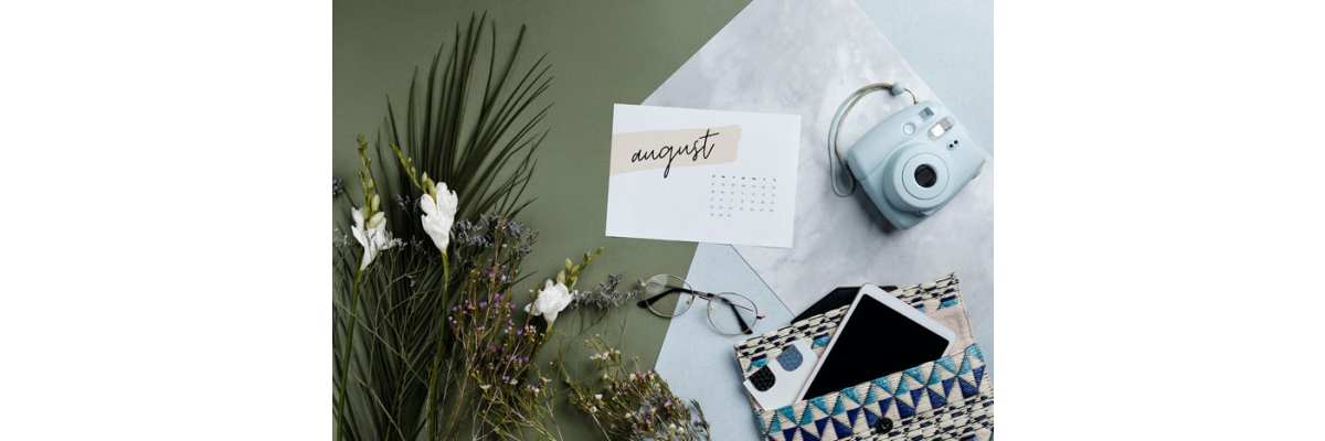 Der Garten im August - Der Garten im August