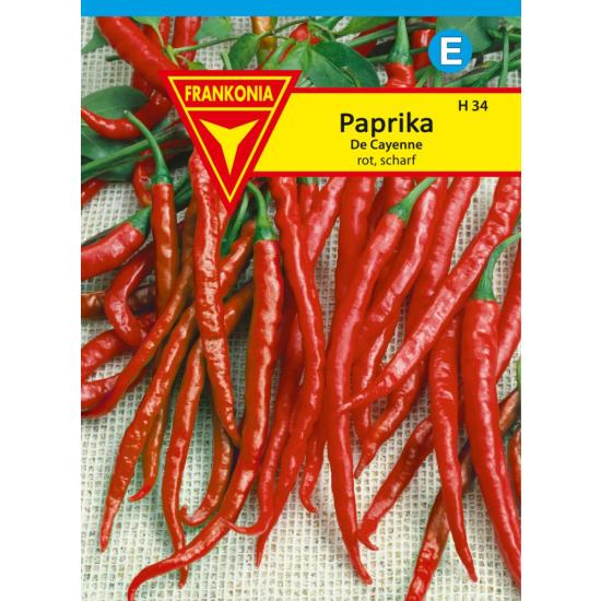 Paprika, De Cayenne