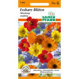 Blumenmischung, Essbare Blüten