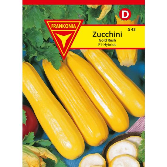 Zucchini, Gold Rush F1