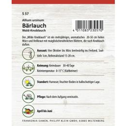 Bärlauch, wilder Knoblauch