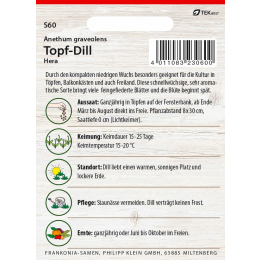 Topf-Dill, Hera
