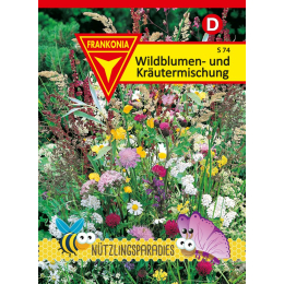 Wildblumen- und Kräutermischung