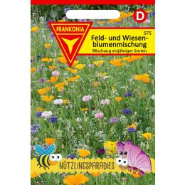 Feld- und Wiesenblumen, Mischung