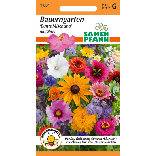 Blumenmischung, Bauerngarten