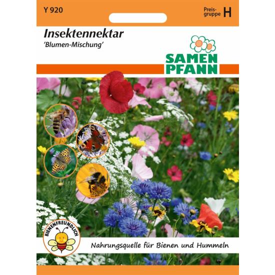 Blumenmischung, Insektennektar