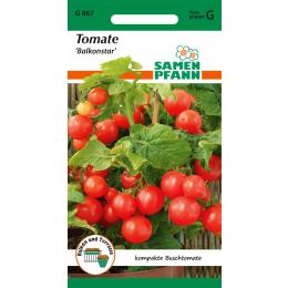 Tomate, Buschtomate, Balkonstar