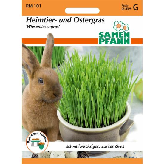 Heimtier- und Ostergras