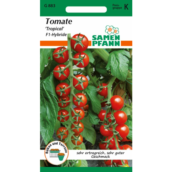 Cherry - Tomate, Tropical F1