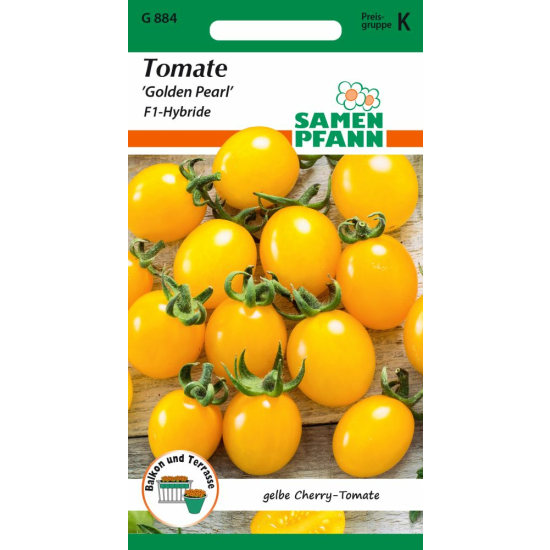 Cherry-Tomate, Golden Pearl F1
