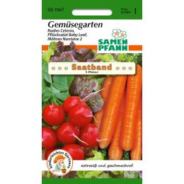 Gemüsegarten, Saatband