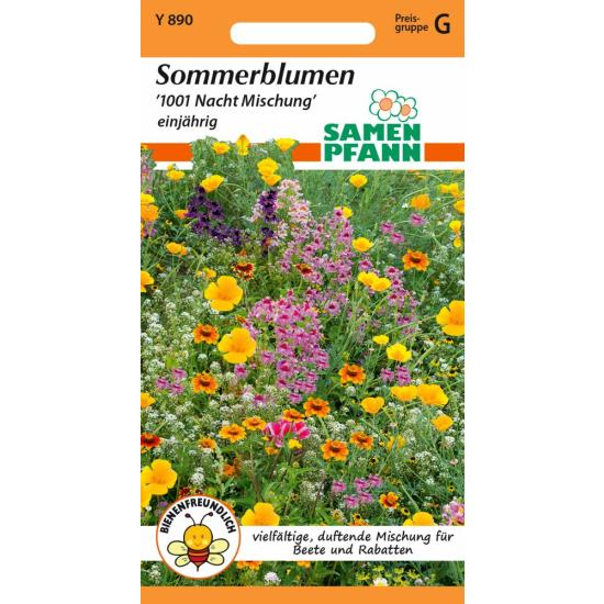 Blumenmischung, Sommerblumen 1001 Nacht