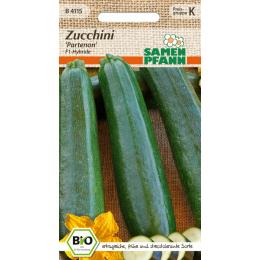Zucchini Partenon F1, BIO