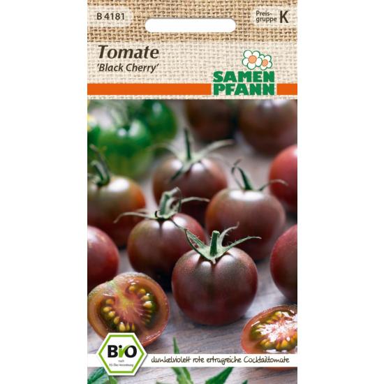 Tomate Black Cherry, BIO