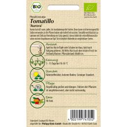 Tomatillo Aurora, BIO
