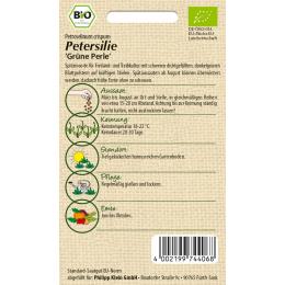 Petersilie Grüne Perle, BIO