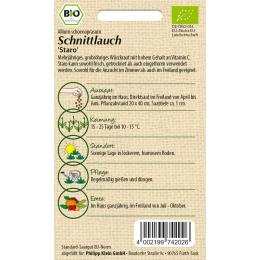 Schnittlauch Staro, BIO