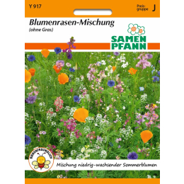 Blumenrasenmischung