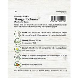 Stangenbohne, Mombacher Speck