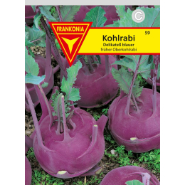Kohlrabi, Delikatess blauer