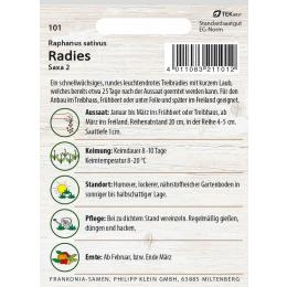 Radies, Saxa 2