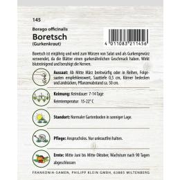 Boretsch oder Gurkenkraut