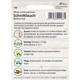 Schnittlauch, Medium leaf