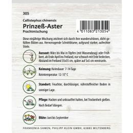 Prinzess-Aster, Prachtmischung