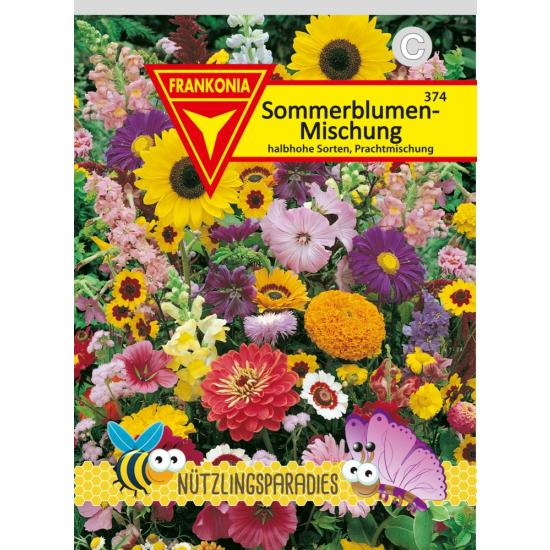 Sommerblumen, Mischung